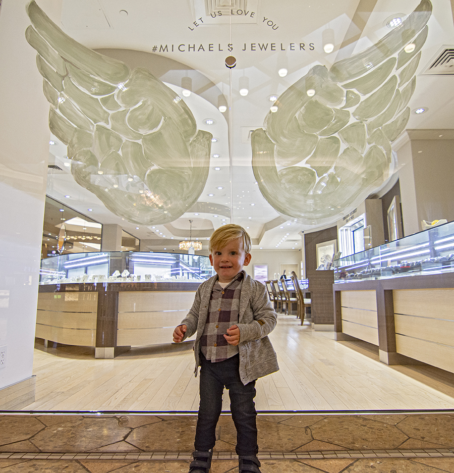 Michaels Jewelers Angel Wings 1